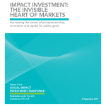 Report of the Social Impact Investment Taskforce G8