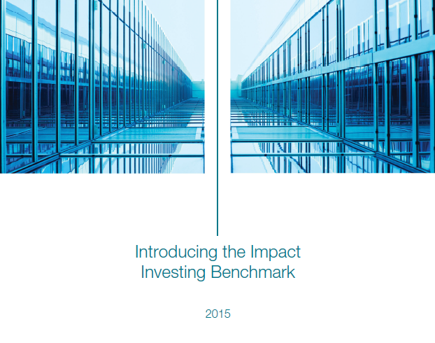 Introducing the Impact Investing Benchmark – CA and GIIN