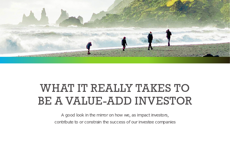 Pymwymic Report on 'What it really takes to be a value-add investor'