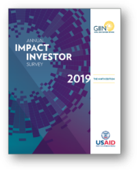 Global Impact Investing Network's 2019 Annual Impact Investor Survey